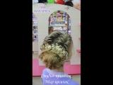 Прическа из кос для Ксении
