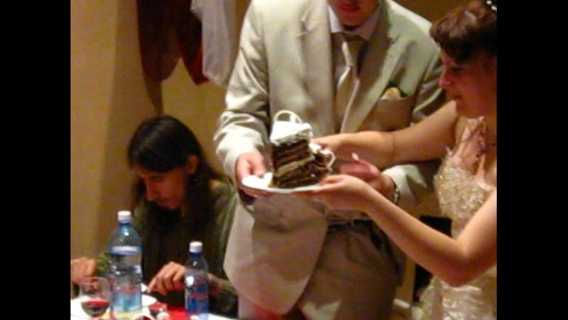 моя свадьба 18.08.2010 торт