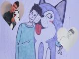Лена Шейдлина и Саша Спилберг нарисовали Влада Беренича.