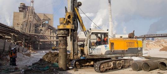 Строительство древесно-подготовительного цеха (ДПЦ)