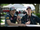 Carlos Sainz And Dany Kvyat | Grill The Grid 2017 | Toro Rosso