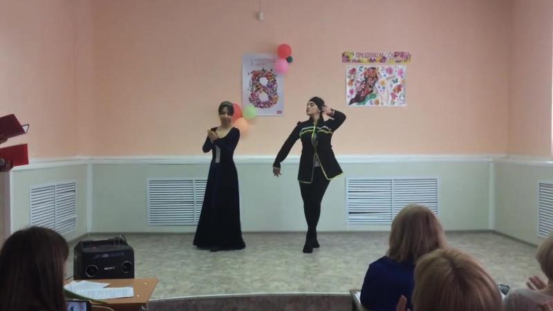 ТанецЭнзели Тимур ТемировАрмянская свадьба (В Исполнении Татевик Асоян и Мэри Авдалян)