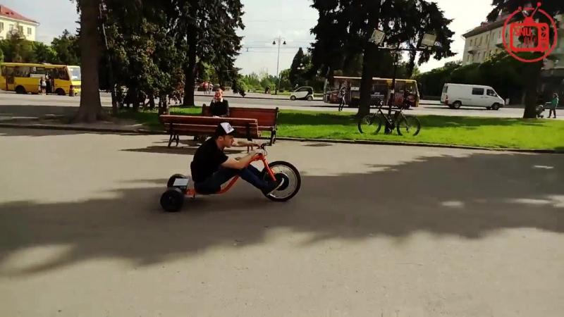 Дрифт трайк Ukraine_Lytsk_drifttrike