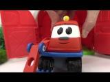 Грузовичок Лева и Робокар Поли моют #машинки! А Эмбер из #РобокарПоли лечит Капу! #МашинкиМультики!