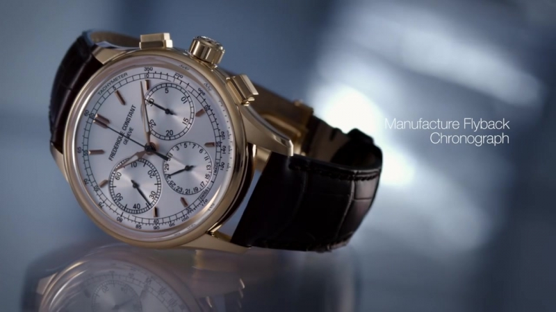 The First Flyback Chronograph Manufacture FC-760