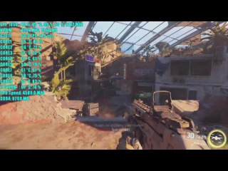 Call of Duty Black Ops 3 GTX 1050 2GB OC | 1080p Средний Настройки | Фреймрейт ТЕСТ