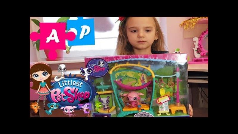 Іграшка серії Littlest Pet Shop. Ігрові набори для дівчаток