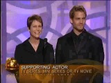 Paul Walker &amp Jamie Lee Curtis at Golden Globes 2003