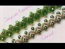 DIY pearl bracelet(zigzag embellishments)(Very clear Tutorial)