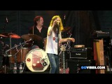 The Black Crowes performs