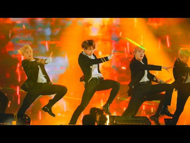 [4k Fancam/직캠]170114 BTS (방탄소년단) - 피땀눈물 FIRE (불타오르네) @골든디스크