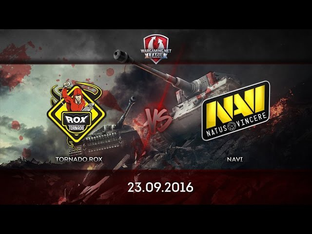 Tornado Rox vs Na'Vi - Адский Руинберг - 23.09.2016