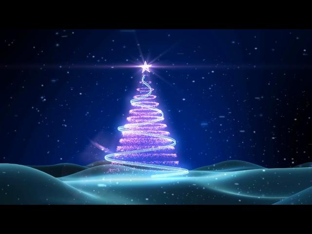 Футаж Новогодняя елка