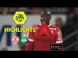 Нанси - Сент-Этьен. Обзор. AS Nancy Lorraine - AS Saint-Etienne (3-1) - Highlights - (ASNL - ASSE)  2016-17