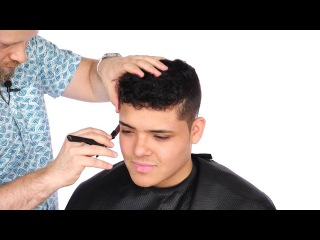 How to Cut Thick Hair with a Fade  - TheSalonGuy