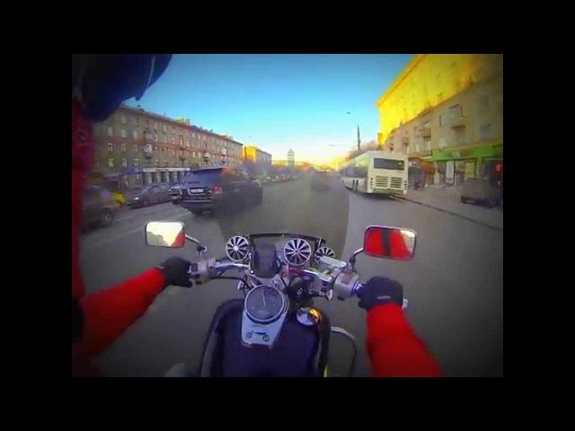 Honda Shadow Slasher GoPro 3 black