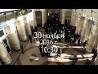 Песенный флешмоб. Катюша в Днепропетровске, кто дальше? Полная версия, хорошее ...