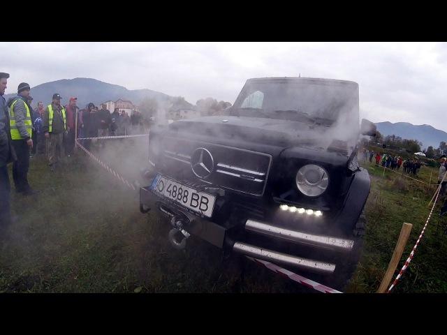 КУБИК Mercedes Benz G63 AMG. НЕУБИВАЕМЫЙ ГЕЛИК 4х4