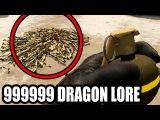 БРОСАЕМ ГРАНАТУ В 999999 DRAGON LORE И НОЖЕЙ  БЕЗУМНЫЙ ЭКСПЕРИМЕНТ (CSGO)