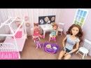 Как сделать Дом для кукол Барби Кукольный домик Своими руками Игрушки для дево...