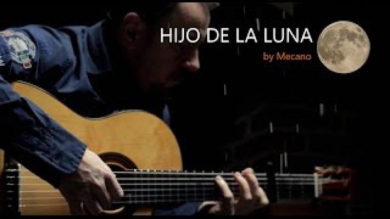 HIJO DE LA LUNA - Mecano - fingerstyle guitar cover by soYmartino