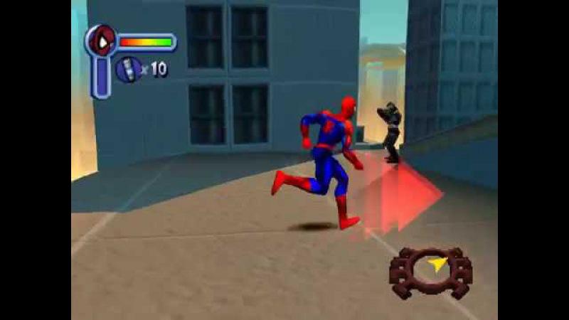 Spider man 2000: уровень 2 - Ограбление банкa