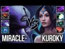Miracle Void vs Kuroky Mirana - Liquid Carry Battle - Shadow Blade Fight Build - DOTA 2