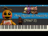 Five Nights at Freddy's 3 - The Living TombStone (Piano Tutorial)