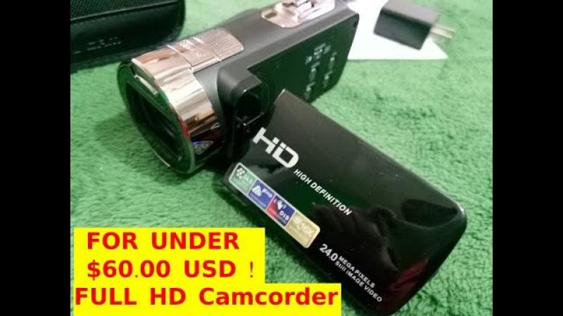 KINGEAR KG0013 2.7inch LCD Screen Digital Video Camcorder 24MP Digital Camera Under 60 dollars