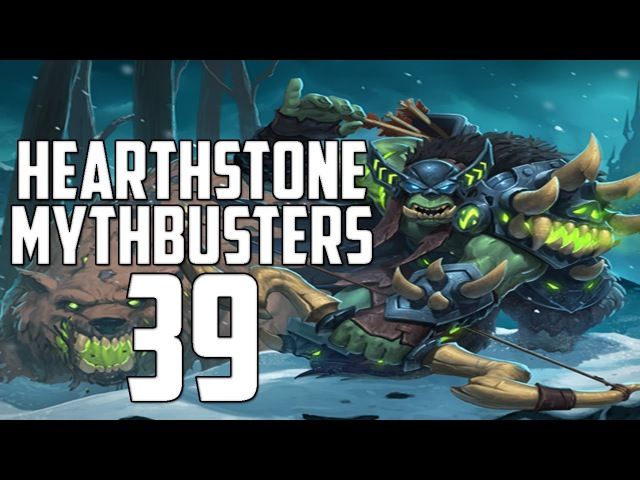 Hearthstone Mythbusters 39 - FROZEN THRONE SPECIAL