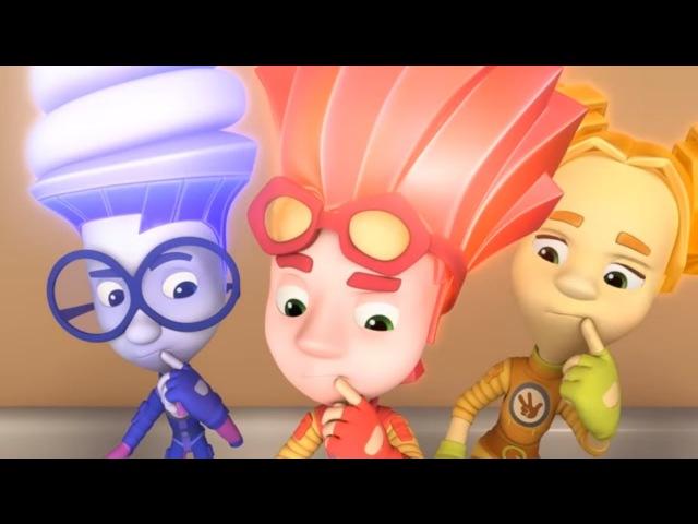 Zeichentrickfilme für Kinder - Die Fixies - Compilation 9 - Fünf Folgen
