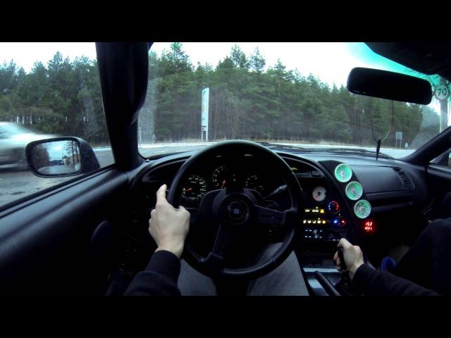 1st Person city driving | Toyota Supra 2JZ GTE MKIV (GoPro)
