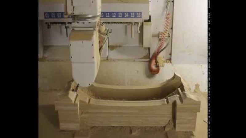 Изготовление оснастки для вакуумного формования