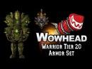 Warrior Tier 20 Armor Set - Titanic Onslaught Armor