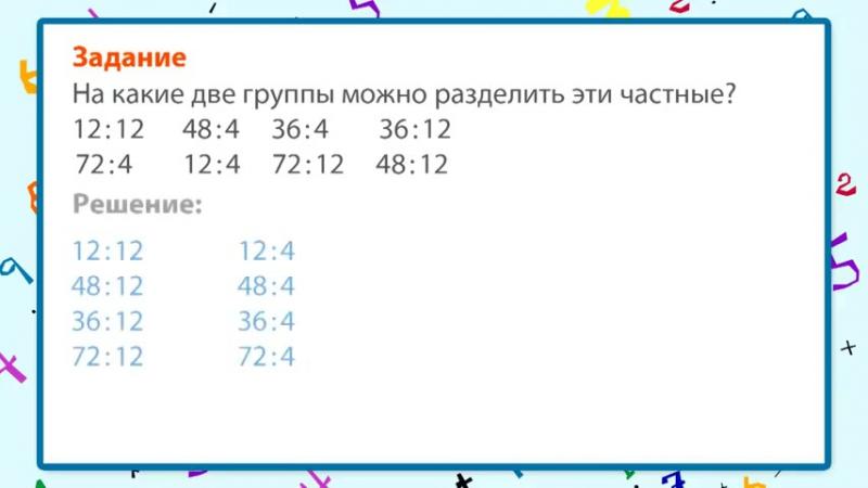 Приёмы деления для случаев вида 87_29 и 66_22 _ урок 34, математика 3 класс