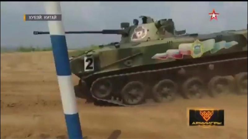 Многотонная БМД штурмует брод кадры конкурса Десантный взвод