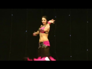 Superb Hot Arabic Belly Dance Alena Papucha 7185
