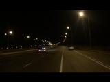 BMW E34 4.6 Stroker V8 vs MB C55 AMG