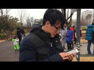 Pokemon GO in Korea/Busan Citizen Park
