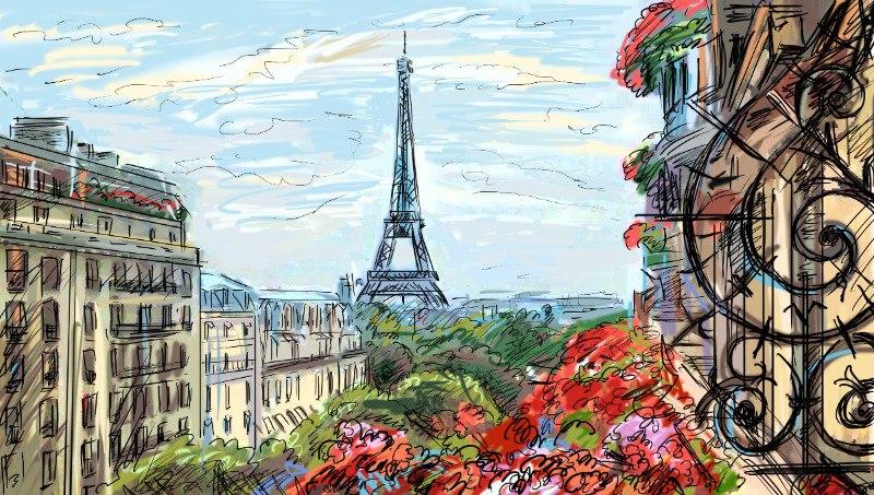 Париж на 8 Марта от 455€