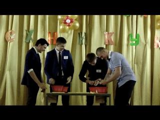 Картофелечистки мужского рода из Луховицкого аграрно-промышленного техникума:)))