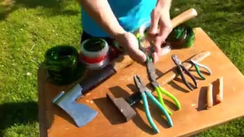 Как сделать из бутылки веревку
