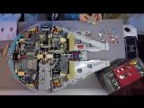LEGO Star Wars Millennium Falcon 75192 Timelapse