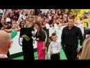 Ксения Бородина с семьёй на Премии МУЗ-ТВ