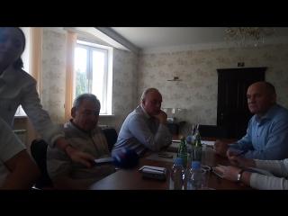 Встреча местных жителей с представителями незаконной свалки ТБО