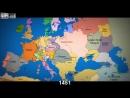как менялись границы стран на протяжении последней 1000 лет |