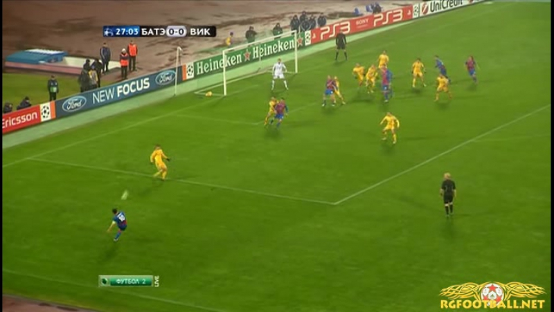 181 CL-2011/2012 BATE Borisov - Viktoria Plzeň 0:1 (23.11.2011) HL » Freewka.com - Смотреть онлайн в хорощем качестве