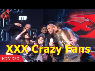 The Vin Diesel And Deepika Show | Crowd Interaction | XXX: Return of Xander Cage Promotions |