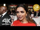 Deepika Padukone interview on Bollywood, Hollywood &amp female empowerment at XXX premiere in London