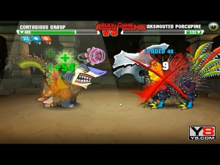 Mutant Fighting Cup 2 (South America Cup 4) Contagious Grasp VS Beaksnouted Porcupine (Dog Part 64)